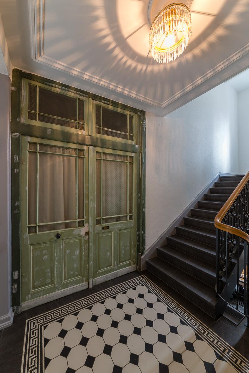 Jugendstil Treppenhaus Und Eingangsbereich Fvg Fliesen
