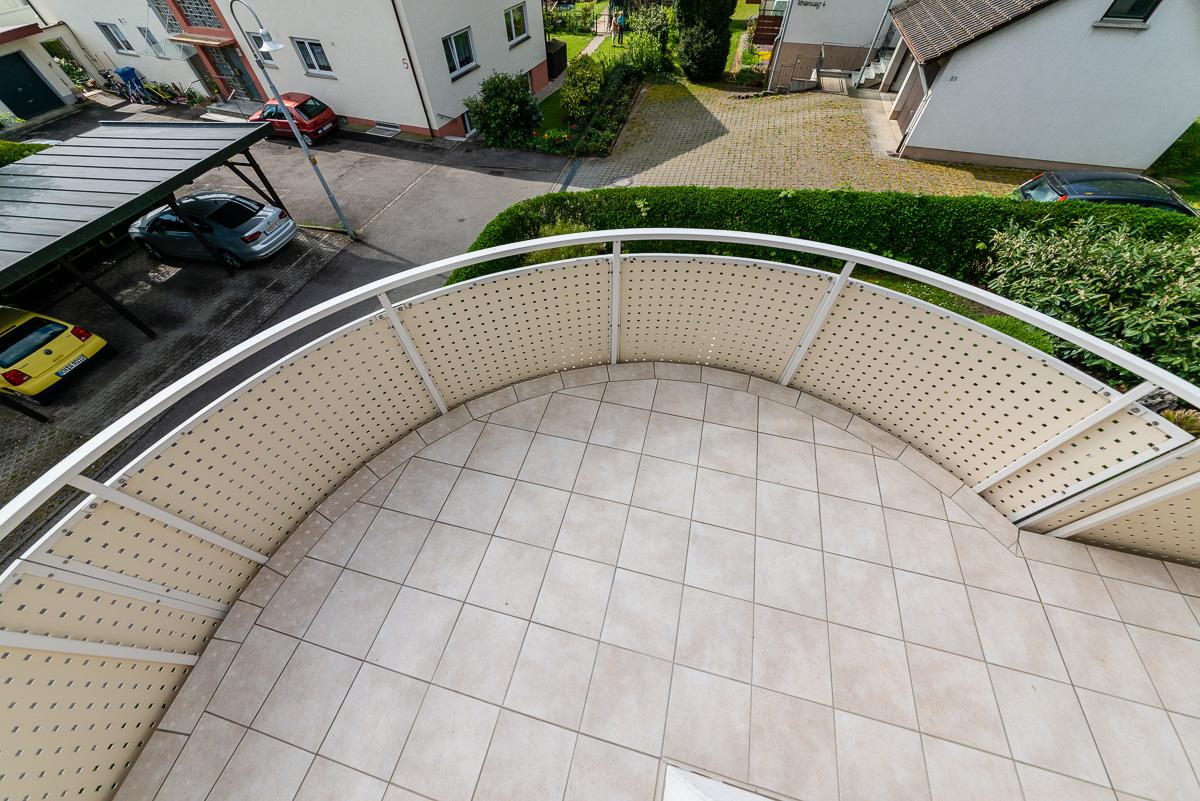 Balkon klasische Fliesenverlegung - FVG - Konstanz