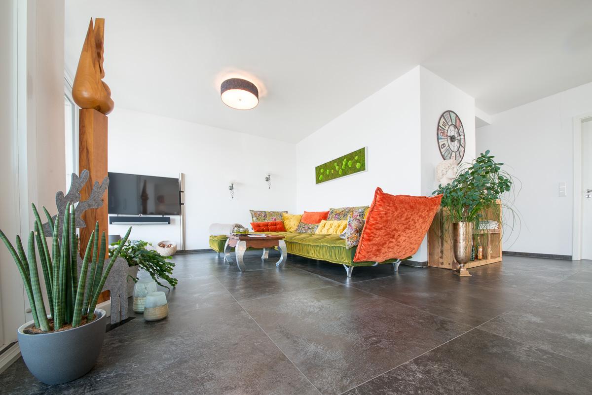 Neubau Wohnzimmer - FVG - Konstanz