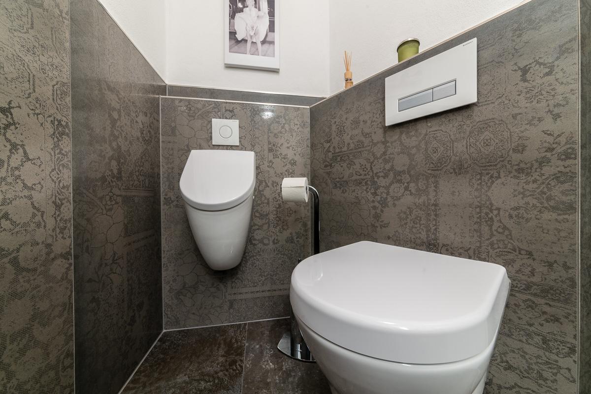 g ste wc fliesen modern g ste wc ideen 18 top beispiele die inspirieren. Black Bedroom Furniture Sets. Home Design Ideas