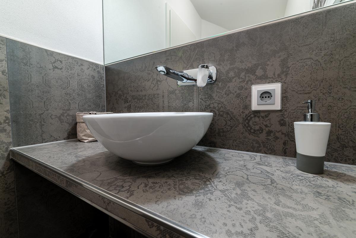 WC Volldekor Fliesen - FVG - Konstanz